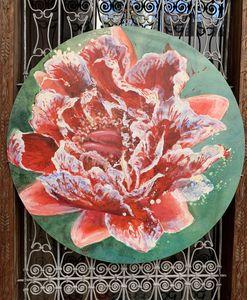 Fabienne Colin - french cancan - Zeitgenössische Gemälde