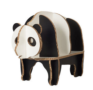 Funnypaper - panda - Kinder Bücherregal