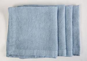 la FABBRICA del LINO - lot de 4 serviettes - Tisch Serviette