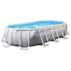 INTEX - piscine hors-sol tubulaire 1422062 - Pool Mit Stahlohrkasten