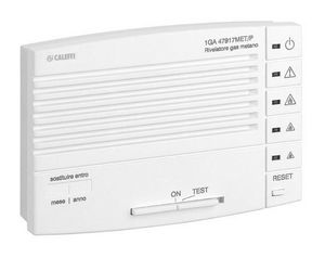 CALEFFI - alarme détecteur de gaz 1428312 - Gazmelder Mit Alarm