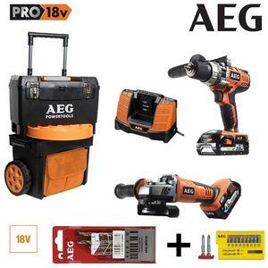 AEG -  - Elektrobohrer