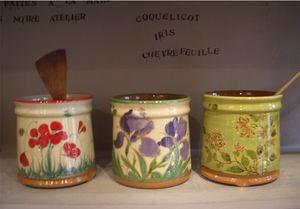 poterie moustiers -  - Bestecktrockengestell