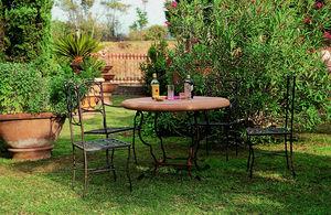Enzo Zago -  - Rundes Gartentisch