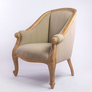 DECO PRIVE - fauteuil cérusé - Crapaud Sessel