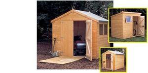Halls Garden Products -  - Holz Gartenhaus