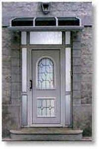 Fermetures Du Nord -   - Eingangsglastür