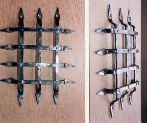 Atelier Des Metaux - grille de judas de porte - Gitter Für Guckfenster