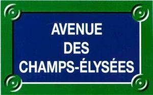 Codifa Diffusion - rue - Hausnummerschild