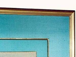 La Maison Du Cadre depuis 1933 - passe partout en soie - Rahmen