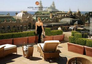 HÔTEL METROPOLE MONACO -  - Ideen: Hotelterrassen