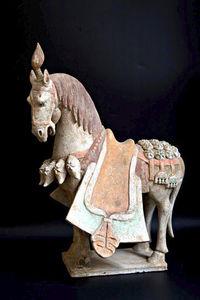 La Tibétaine - wei - Pferd