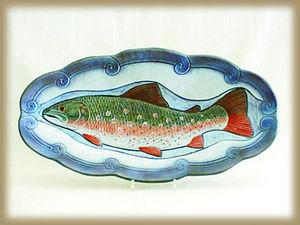 NITTSJÖ KERAMIK -  - Fischplatte