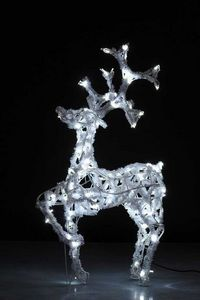 ARTS ET PLAISIRS - cerf patte levée - belle de jour - Weihnachtsschmuck