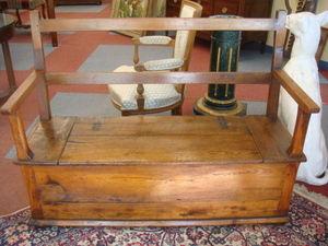 Antiquités Braga -  - Banktruhe