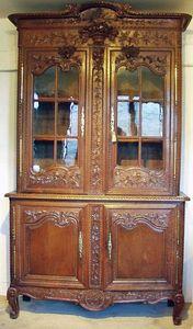 Antiquités Eric de Brégeot -  - Zweiteiliges Buffet