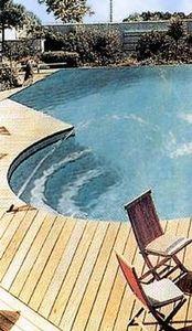 Blanchard Bois -  - Schwimmbeckenrand