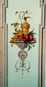 sandrine takacs decors - nature morte - Trompe L'oeil Malerei
