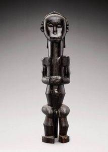 Galerie Serge Schoffel - figure de reliquaire - Kleine Statue