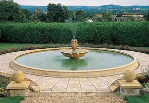 Haddonstone - extra extra large pool - Springbrunnen
