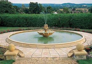 Haddonstone - extra extra large pool - Springbrunnen