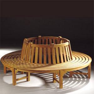 Lindsey Teak - treeseat round - Garten Rundbank