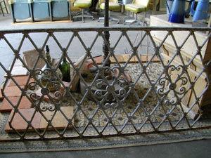 antik Makina - grille - Geländer