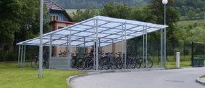 Brett Martin Daylight Systems - bicycle canopy - Fahrradunterstand