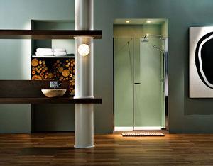 Bathroom City - matki new radiance pivot inline shower door - Badezimmer
