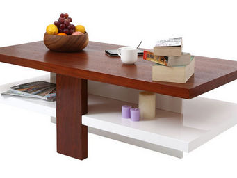 Miliboo - willo table basse - Rechteckiger Couchtisch