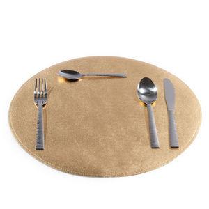 Maisons du monde - set de table rond doré - Tischset