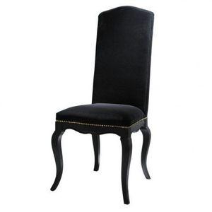 MAISONS DU MONDE - chaise noire barocco - Stuhl