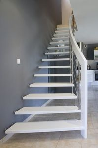 Créateurs d'Escaliers Treppenmeister - nova - Gerade Treppe