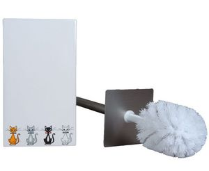 SIRETEX - SENSEI - brosse de toilette chats chics - Wc Serviteur