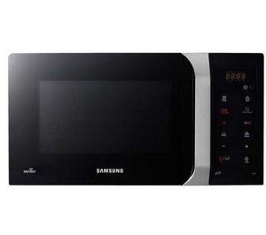 Samsung - four micro-ondes avec grill gs109f-1s - noir / arg - Mikrowellengerät