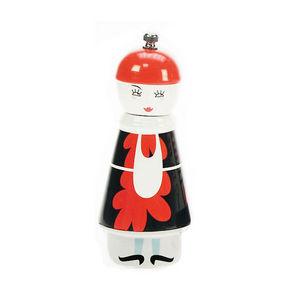WHITE LABEL - moulin à poivre ou sel collection serveur cm femme - Salzmühle