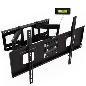 WHITE LABEL - support mural tv orientable max 65 - Tv Halter