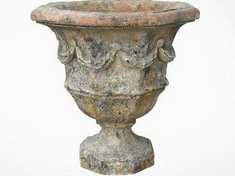 TERRES D'ALBINE - vase octogonal - Garten Blumentopf