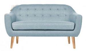 Demeure et Jardin - canapé design scandinave 50 bleu bjort - Sofa 2 Sitzer