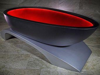 ALVARAE - -carbone - Freistehende Badewanne