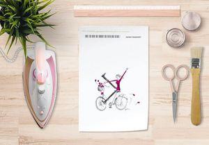 la Magie dans l'Image - papier transfert un vélo - Verlegung