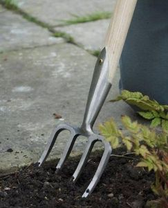 Sneeboer   & Zn - great dixter fork 4t - Gabel