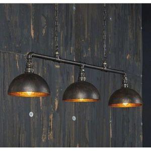 Mathi Design - triple suspension bar industrielle - Deckenlampe Hängelampe