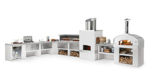 Palazzetti - modulaire-- - Sommerküche