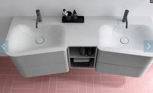 BURGBAD - badu-- - Doppelwaschtisch Möbel
