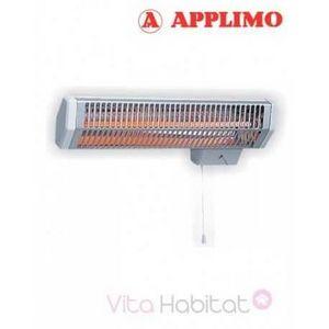 Applimo - radiateur électrique infrarouge 1423132 - Elektrische Infrarot Heizung