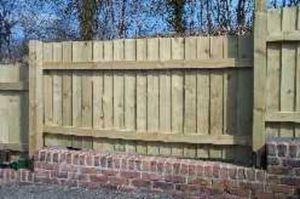 Bsw Timber -  - Gartenzaun