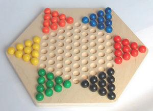 Il Leccio - dama cinese palline - Gesellschaftsspiel