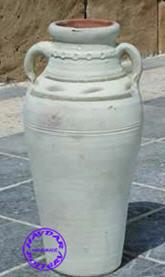 HAYDAR POTTERY - jarre moknine 4 anses - Gartenamphore
