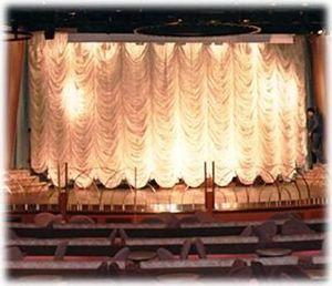 AMI A LENGLART - music-hall. - Bühnenvorhänge